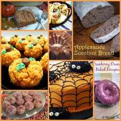 Sew Crafty Angel: Sweet Fall Treats from the WUW Girls