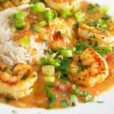 Shrimp Etouffee - Chef Dennis Shrimp Recipes For Dinner, Seafood Dinner, Seafood Recipes, Cajun Recipes, Salmon Recipes, Sauce Recipes, Etouffee Recipe Easy, Scampi Recipe, Chicken Etouffee