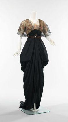 edwardian, steampunk, gowns, historic fashion