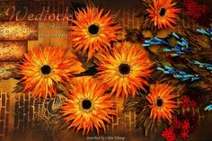 © Wedlock- Quilled sunflowers pictures (Searched by Châu Khang)
