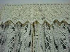 Resultado de imagem para como fazer uma cortina de croche rapida ?