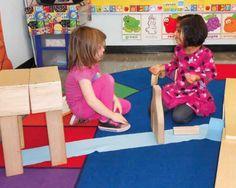 Building Bridges to Understanding in the Pre-K Block Center: A Morning in the Block Center