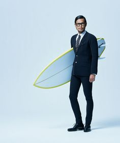 Quiksilver True Wetsuits, go from boardroom to beach without changing!