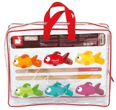 Janod - Fishy Fishing Bath Game #pintowin #entropywishlist A lovely gift for kids to share, & develop hand eye coordination!