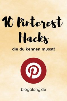 Pinterest für Anfänger – 10 ultimative Tipps und du wirst schnell zum Pinterest Profi #pinterest #anfänger #tipps #hacks #blogalong Online Marketing Strategies, Social Media Marketing, Content Marketing, Pinterest Co, Pinterest Instagram, Pinterest Categories, Logo Nasa, Pinterest Marketing, Lifehacks