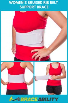 Why do I need a rib support wrap? This wrap can be used for various conditions including a bruised rib, rib muscle strain, & even a cracked rib. This brace contours to your body, making it completely customizable to your specific shape. You can even wear it beneath or above your clothes, depending on your preference.   BraceAbility