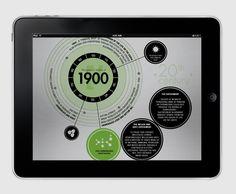 Adam Digital iPad Magazine  //  Visual - Infographic by Francesco Vetica, via Behance