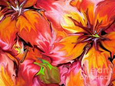 FOR SALE! PHOTOGRAPHIC ART!  ....Liquefied Asiatic Lilies Abstract....  #photography #art #interiordecoration #interiordesign #prints #posters #iphonecases #cards #forsale #RoseSantuciSofranko #abstracts  #flowers #gardens #florals #nature #Spring #hydrangeas  #bulbs  #AsiaticLily #lilies