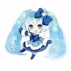 雪ミクの画像 プリ画像 People Illustration, Illustration Art, I Love Snow, Kpop Drawings, Cute Anime Chibi, Popular Anime, Anime Music, Best Waifu, Asuna