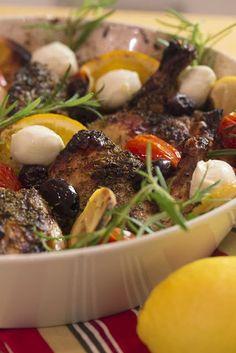 Hellan ja viinilasin välissä: Välimeren kanapata & lemon curd
