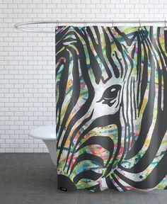 zzz als Duschvorhang von Artyfact Gallery | JUNIQE