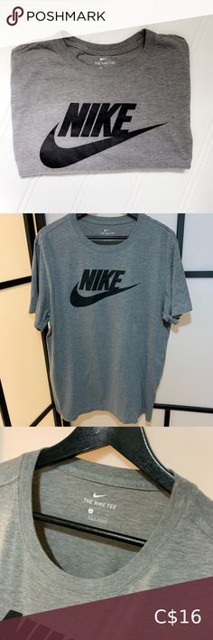 Nike T-Shirt Excellent Condition   Comes from a Smoke🚭Free & Pet 🚫Free Home.  🌟Make an offer🌟 all reasonable offers are welcome or you can bundle 🛍and save 💰on shipping fees📦💛.  All sales are final & sold as is. Nike Shirts Tees - Short Sleeve Workout Pants, Workout Shirts, Warriors Shirt, Nike Pro Combat, Sport T Shirt, Nike Dri Fit, Black Nikes, Nike Men, Plus Fashion