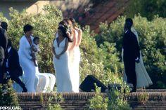 Kim Kardashian and Kanye West Wedding Pictures 2014 | POPSUGAR Celebrity