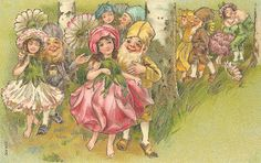I am coming to the end of the Angel and fairy images, but there are others that I will be posting. They are still vintage, elves, alphabet a...