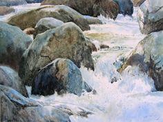 Gallery of Original Watercolors on Smooth Surfaces - Ann Pember - Ann Pember