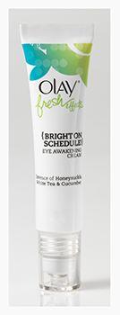 Olay Fresh Effects: Bright On Schedule - Eye Awakening Cream