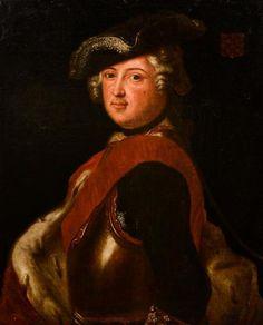 ECOLE FRANCAISE du milieu du XVIIIe siècle - Portrait de militaire en buste