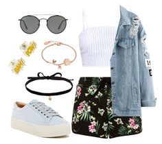 """""""Cool dreams"""" by annacblank ❤ liked on Polyvore featuring Marc Fisher LTD, Ray-Ban and Joomi Lim"""