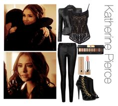 Katherine pierce inspired outfit vampire diaries katherine wardrobe: vampire diaries and the originals Robert Pattinson, Vampire Diaries Outfits, Katherine Pierce, Edgy Outfits, Alberta Ferretti, Blazer Jacket, Originals, Perfect Fit, Fashion Looks
