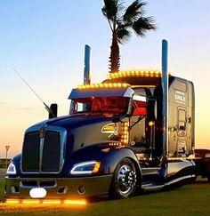 Big Rig Trucks, Semi Trucks, Kenworth Trucks, Chevy Trucks, Customised Trucks, Truck Paint, Big Butts, Vehicles, Rigs