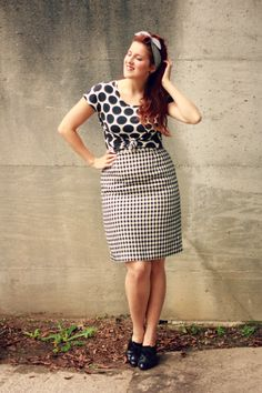 Gingham and stripes and dots, oh my! | www.eccentricowl.com