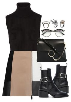 """""""Untitled #321"""" by lydiaa021 ❤ liked on Polyvore featuring Michael Kors, Alexander Wang, Jil Sander, ZeroUV, Chloé and Mulberry"""