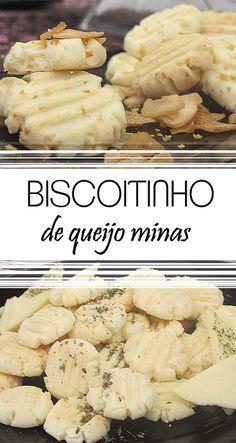 Receita especial e fácil de Biscoitinho de queijo minas | Snack | Biscoitinho | Petisco caseiro