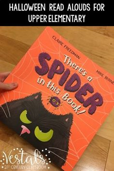 Here are the best Halloween read alouds for upper elemenaty and activities to go with them. #vestals21stcenturyclassroom #halloween #halloweenbooks #upperelementary