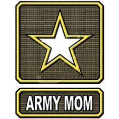 Army Mom by Mychristianshirts on Etsy
