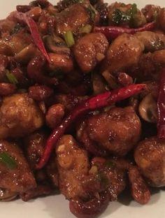 Vegan Cashew Chicken