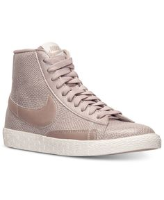 official photos 4e20b fd45a Nike Women s Blazer Mid Leather Premium Casual Sneakers from Finish Line -  Finish Line Athletic Shoes