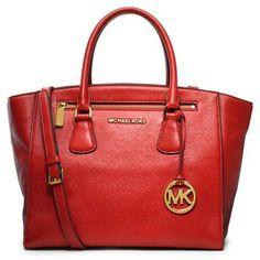MICHAEL Michael Kors 'Large' Leather Satchel on shopstyle.com