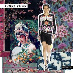 art deco rug | chinese opera | Leonard | 1930s wall panel | antique tile |vintage art deco rug