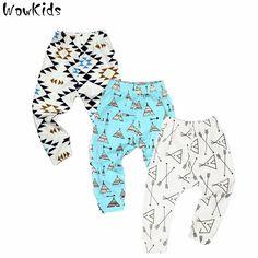 3 PCS/LOT Bayi Celana Musim Panas & Musim Semi Mode Kapas Bayi legging Celana Anak Baru Lahir Bayi perempuan Pakaian 0-24 M Bayi celana