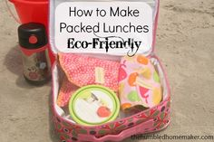 How to Make Packed Lunches Eco-Friendly with Reusables from Mighty Nest- The Humbled Homemaker