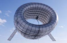helium wind turbine to catch high altitude winds