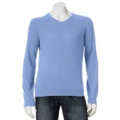 Marc Anthony Solid Cashmere Sweater - Men