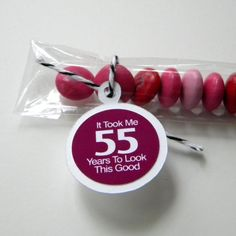 55th+Birthday+Party+Favors++It+Took+Me+55+by+CarasScrapNStampArt,+$9.00