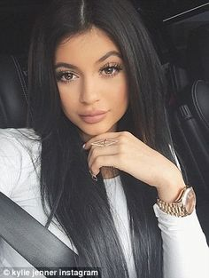 Selfie queen: Kylie told the magazine that once she 'has a kid' she will 'probably delete my Instagram and just ... I don't know, live life'