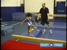 Video: Balance Beam Exercises for Preschool Gymnastics | eHow