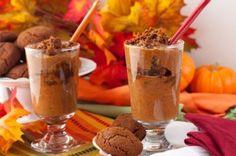 Pumpkin Gingersnap Chia Breakfast Parfaits