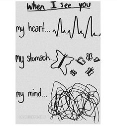 When I See You, You And I, Jolie Phrase, My Mind, My Heart, Love Quotes, Mindfulness, My Love, Was