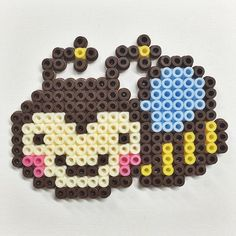Bee hama beads by Molly & Selma