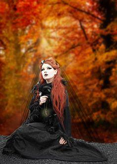 gothicfemininity tumblr. tons of gorgeous photos of spooky women
