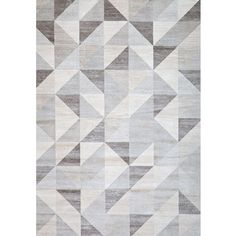 Greyson Living Budle Grey Area Rug (5'3 x 7'6) | Overstock.com Shopping - The Best Deals on 5x8 - 6x9 Rugs