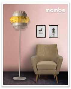 new armchair DOBLE and floor lamp COMB II #design by Cláudia Melo for Mambo Unlimited Ideas