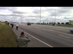 Chris Kyle's Procession through Georgetown, TX from the eyes of Boot Girl Brandi. 2/12/2013