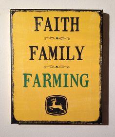 Faith Family Farming John Deere, Etsy