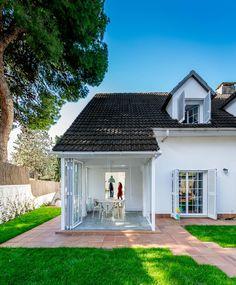 Auf den ersten Blick wirkt das Haus ziemlich klassisch.