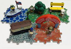 Details about  Tomy Animal Crossing New Leaf Game Mini Figure Playset Collection Set of 5